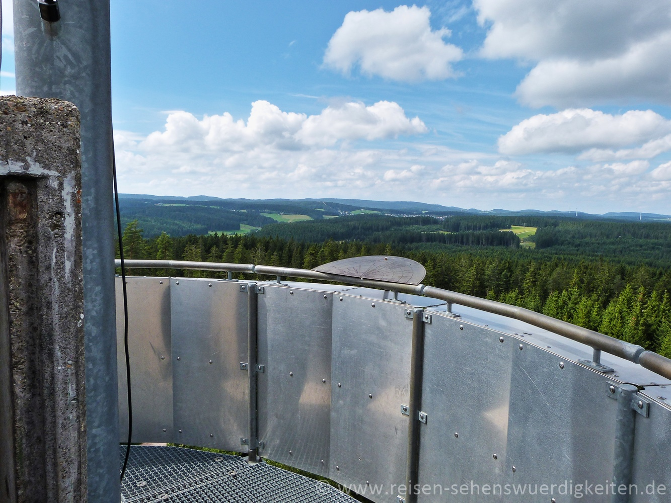 Ausflugsziele im Schwarzwald, Stöcklewaldturm, Aussichtsturm mit Blick über den Schwarzwald