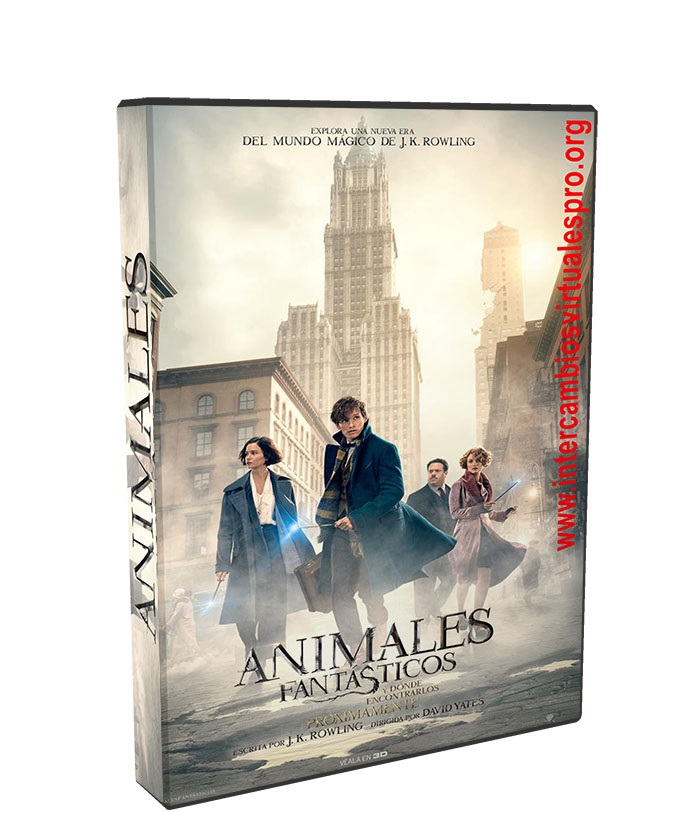 Animales fantásticos y dónde encontrarlos poster box cover