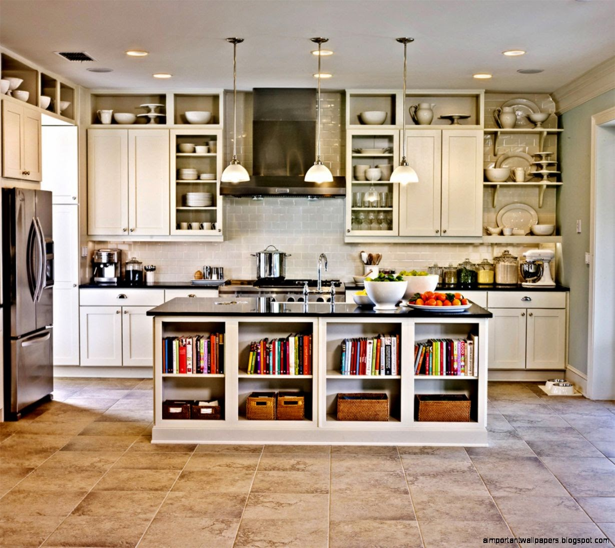 Kitchen Cabinets Decorating | Important Wallpapers