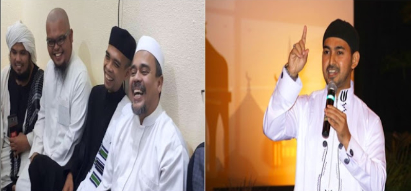 Turut Hadir Di Pertemuan Mengharukan Ustadz Abdul Somad dan Habib Rizieq, Ustadz Ahmad Al-Habsyi Serukan Ini