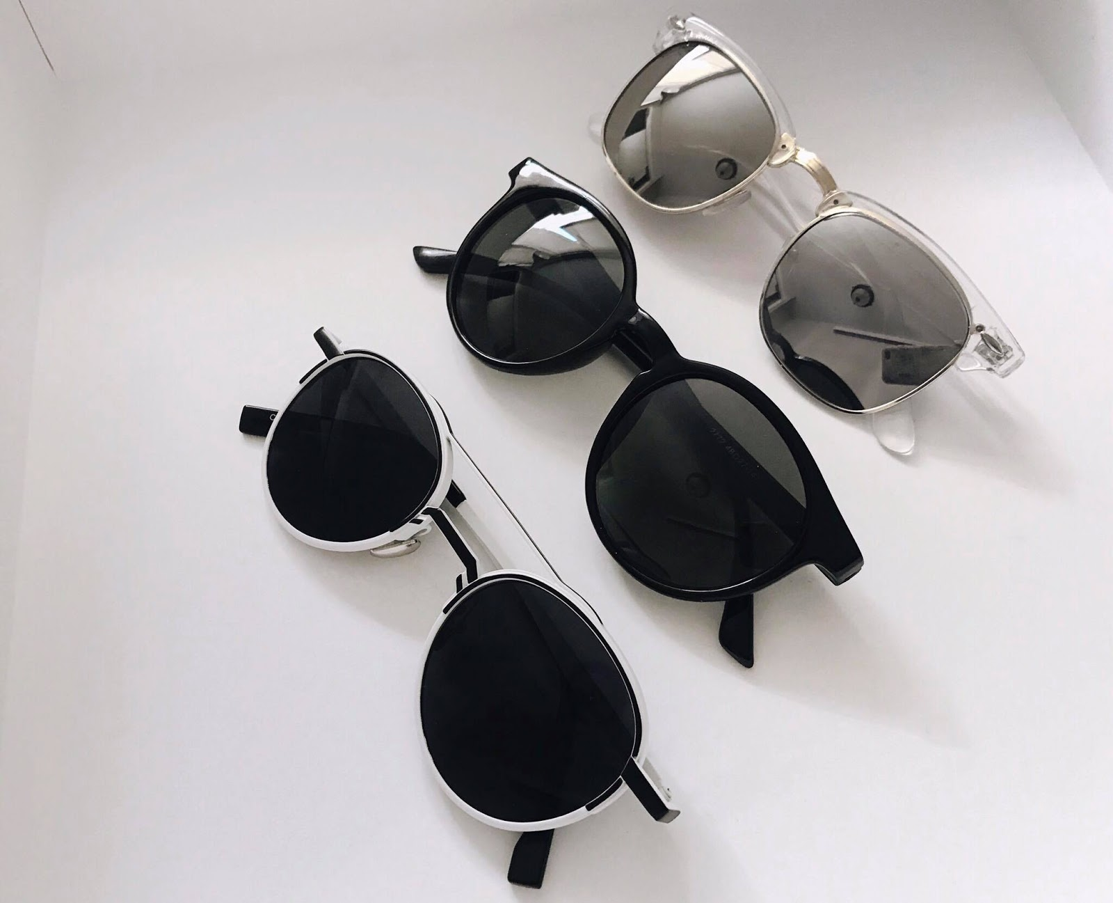 e94eb9f54e These were the three pairs of sunglasses I received