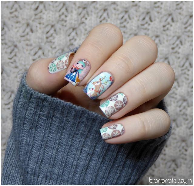 paznokcie zimowe