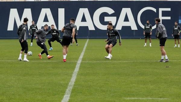 El Málaga volverá el 30 de diciembre a los entrenamientos
