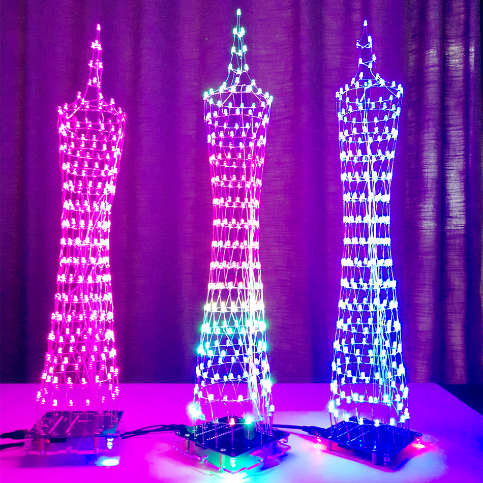 Audio LED music Music Spectrum Display Modes DIY LED Audio