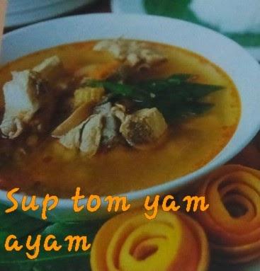 Resepililymaria (I): SUP TOMYAM AYAM