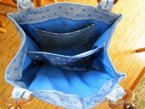 джинсовая сумка - Beautiful denim bag