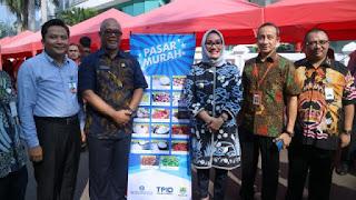 Harga Beras Naik ,TPID Gelar Pasar Murah
