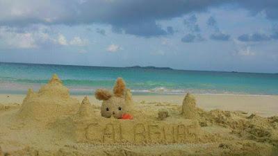 Calaguas, Whitesand beach, Calaguas Island,