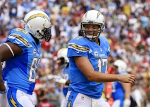 Philip Rivers joined Malcolm Floyd the last minute of the fourth quarter to create the deadlock