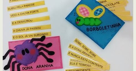 Blog Cantinho Alternativo Envelope Textos Fatiados Com Cantigas E