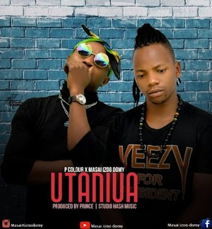 Download Audio | P Color  x Masai Izoo Domy - Utaniua