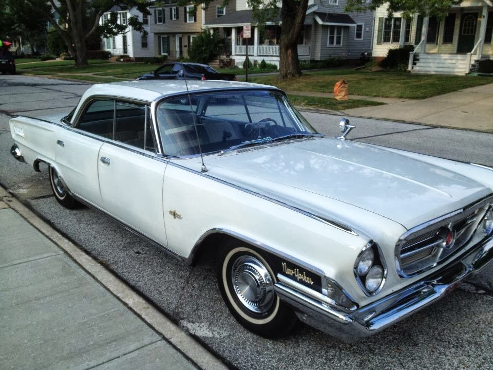 Crawling From The Wreckage: 1962 Chrysler New Yorker - Love Shack ...