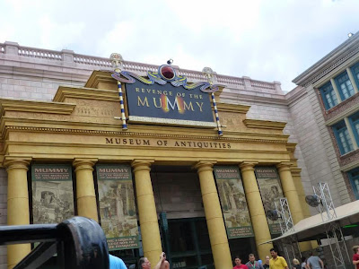 Revenge of the Mummy Universal Studios Orlando Floride