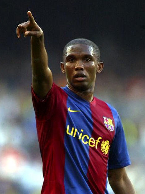 Football Stars: Samuel Eto'o 2011 Best Player Profile