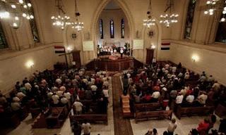 الكنيسة الإنجيلية بقصر الدوبارة تنظم مؤتمرًا دوليًّا للصلاة من أجل مصر