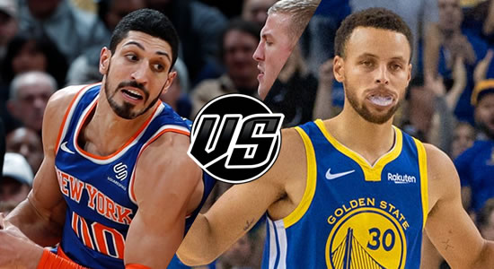 Live Streaming List: New York Knicks vs Golden State Warriors 2018-2019 NBA Season