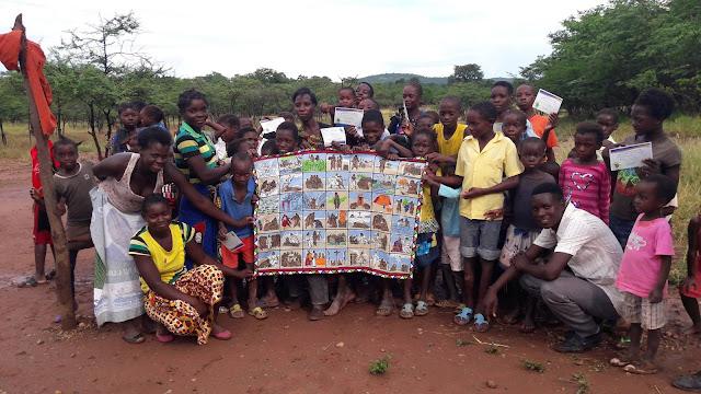 Children Graduate from OCC follow-up classes in Zambia.