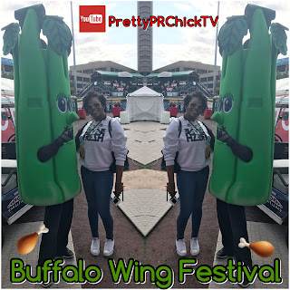 National Buffalo Wing Fest 2017 Vlog #WingFest2017| PrettyPRChickTV