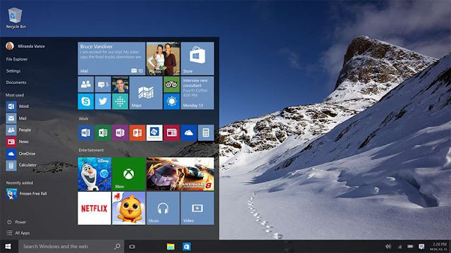 cara mengganti wallpaper windows 10 di laptop