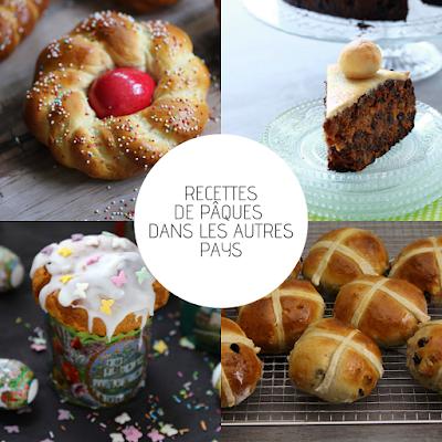hot cross buns , koutlitch , osterminze , simnel cake .... fêter Pâques