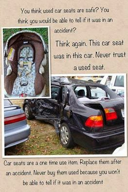 used car seat safety