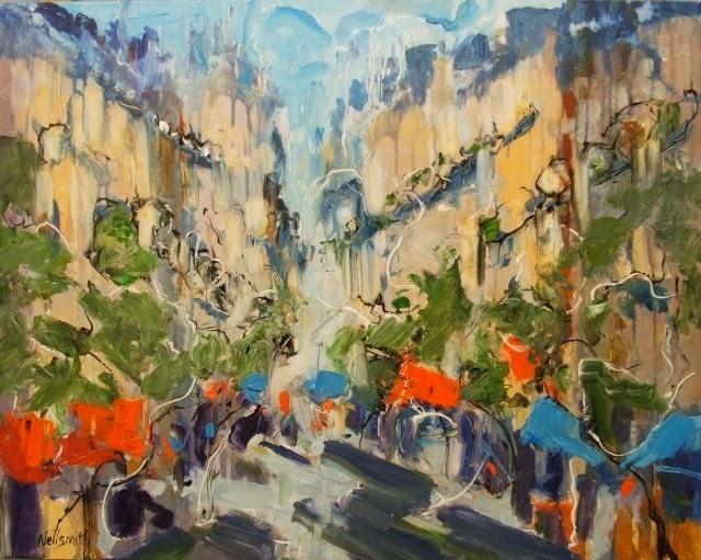 Абстрактные картины. Bruce Nellsmith