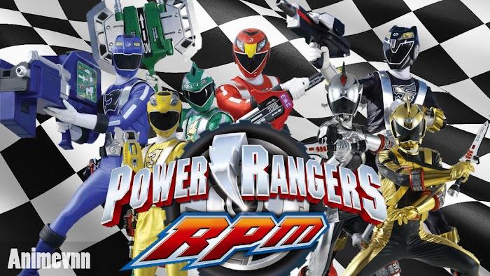 Ảnh trong phim Siêu Nhân Power Rangers RPM 1