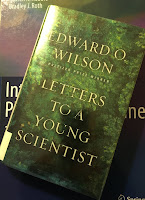 Letters to a Young Scientist, by Edward Wilson, superimposed on Intermediate Physics for Medicine and Biology.