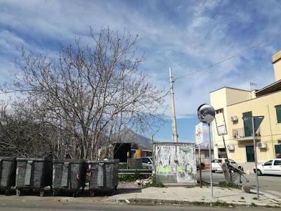 nuovo specchio parabolico in via Altofonte/Strada Vicinale Badame richiesto da Dario Saia