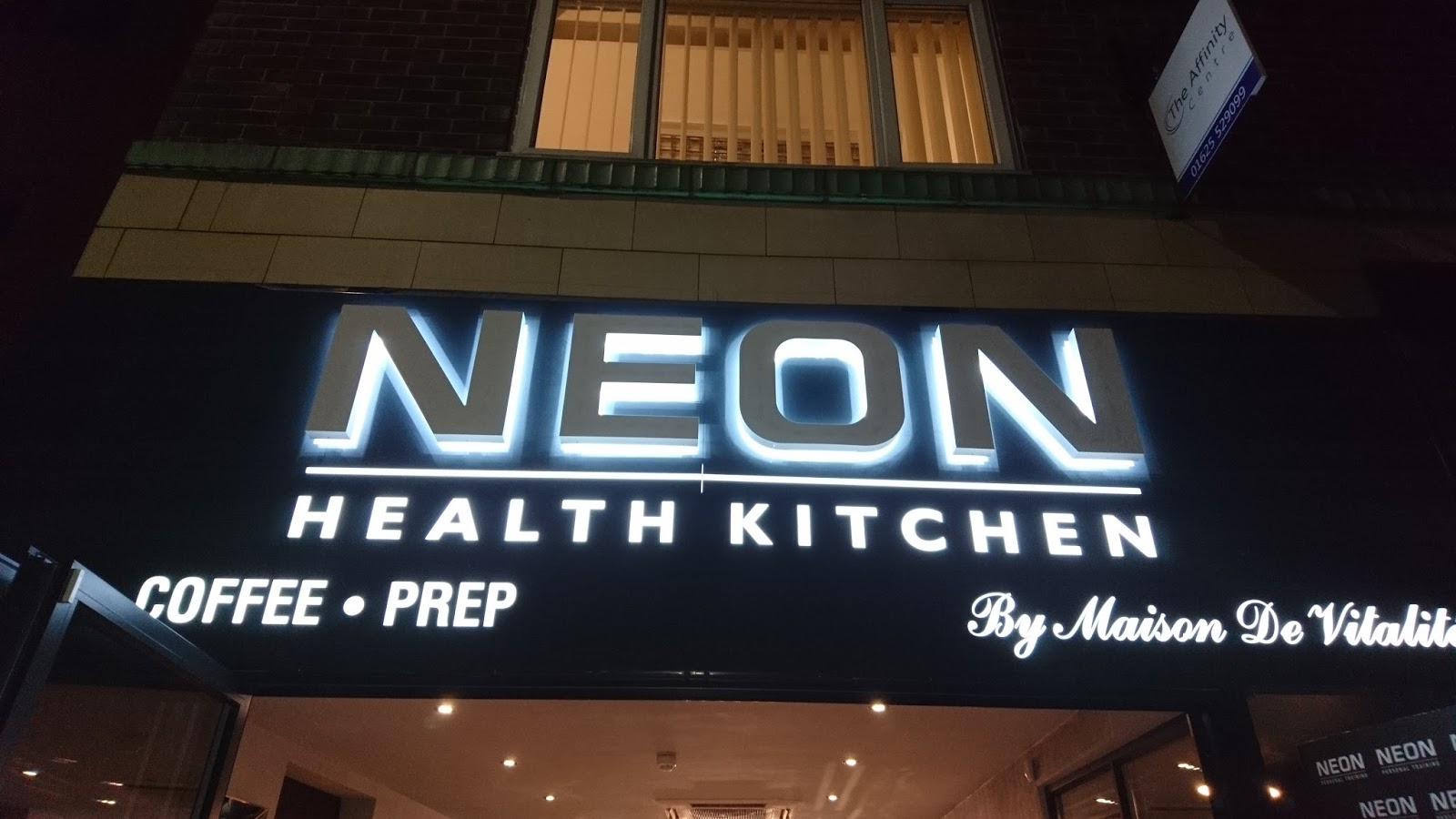 Power is a State of Mind: Neon PT Launch Health Kitchen in Wilmslow
