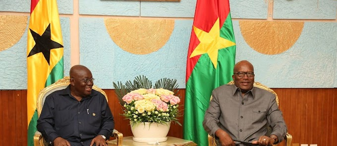 Akufo-Addo in B. Faso to push railway project