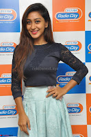 Shravya in skirt and tight top at Vana Villu Movie First Song launch at radio city 91.1 FM ~  Exclusive 16.JPG
