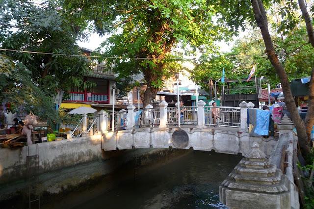 Kanał w Bangkoku