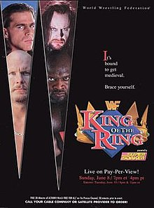 WWE / WWF - King of the Ring 1997 - Event poster