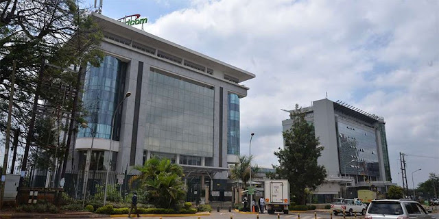 Safaricom Telco awarded a 3 tier certificate for its data centre. PHOTO | Courtesy