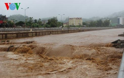 Cảnh báo lũ ngập lụt cục bộ tại Quảng Ngãi