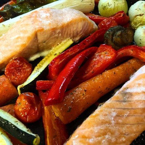 Mis recetas de cocina favoritas salm n a las 3 eses for Como se cocina el salmon