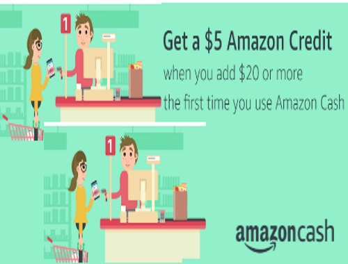 Amazon $5 Credit When You Add $20 To Amazon Cash