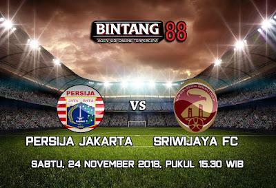Prediksi Persija Jakarta vs Sriwijaya FC 24 November 2018