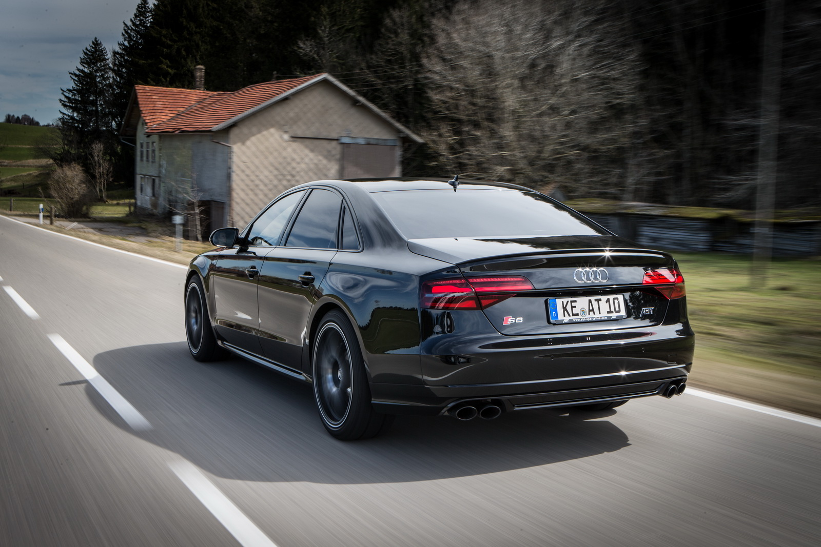 Abt Turns The Audi S8 Plus Into A 705ps Cruise Missile