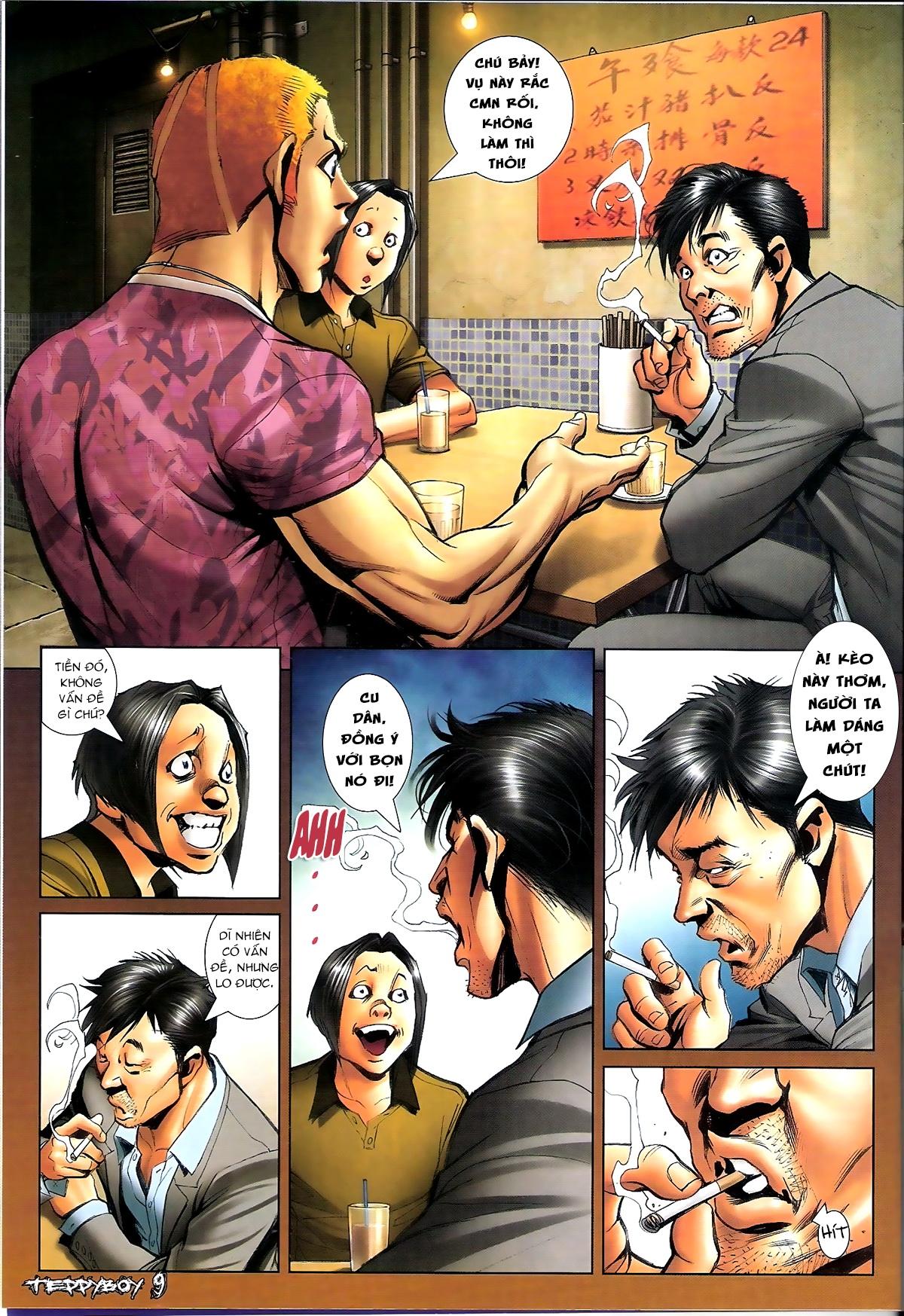 Người Trong Giang Hồ - Chapter 1347: Lý Chí Cao vs Sinh Tư - Pic 8