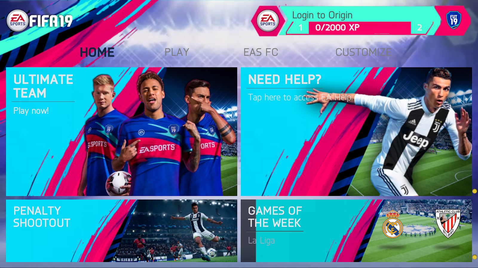 Fifa 19 mod pes 2019 android offline 900mb | Download FIFA