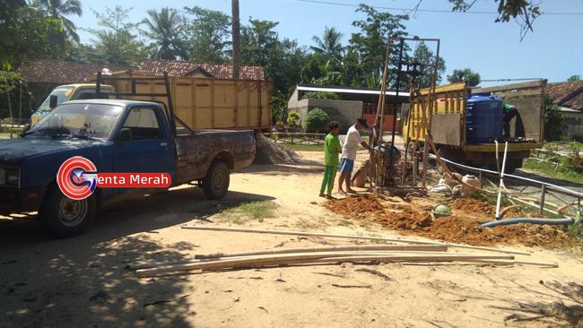 Cair 20%, Anggaran DD Desa Karangsari Digunakan Untuk Pembangunan Infrastruktur