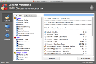 CCleaner Professional Edition 1.11.336 crack