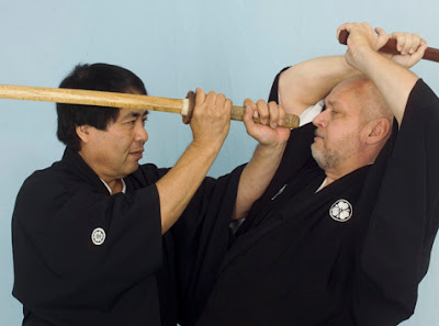 Practice Kenjutsu - Bokken Weekend at Yoshukai Karate Dojo, Dothan, Alabama