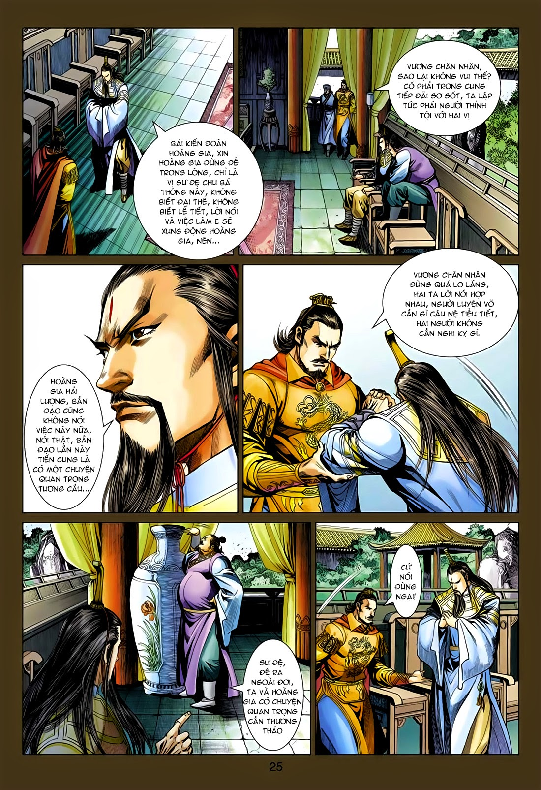 Anh Hùng Xạ Điêu anh hùng xạ đêu chap 75: hoàng thành cựu sự trang 25