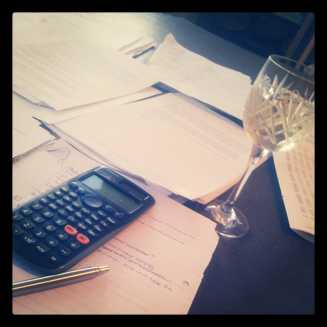 Work revision wine calculator