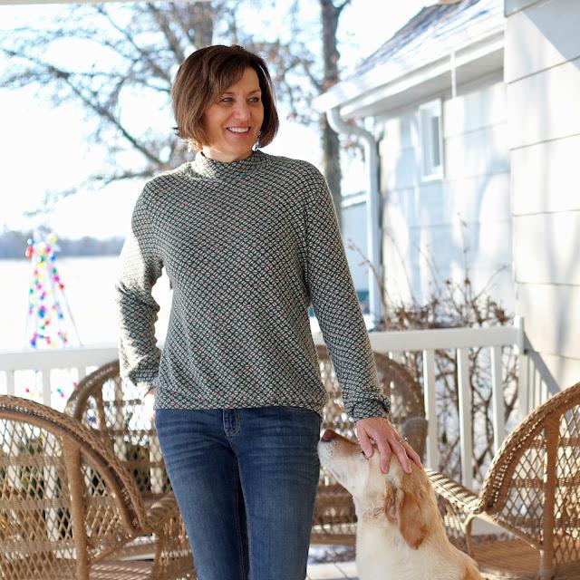 McCall's 7660 in Mood Fabrics' Sweater Knit
