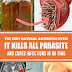 The Best Natural Antibiotic Ever! It Kills All Parasites and Cures Infections in No Time