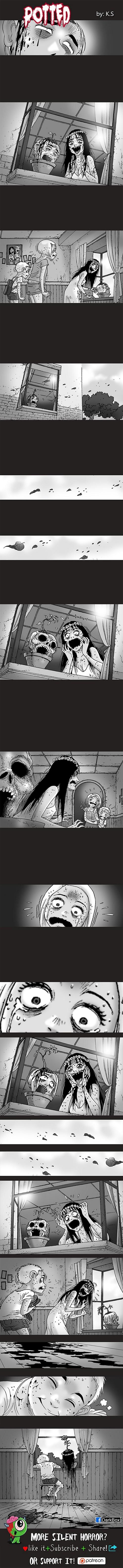 Silent Horror chap 86: Những chậu cây đầu người